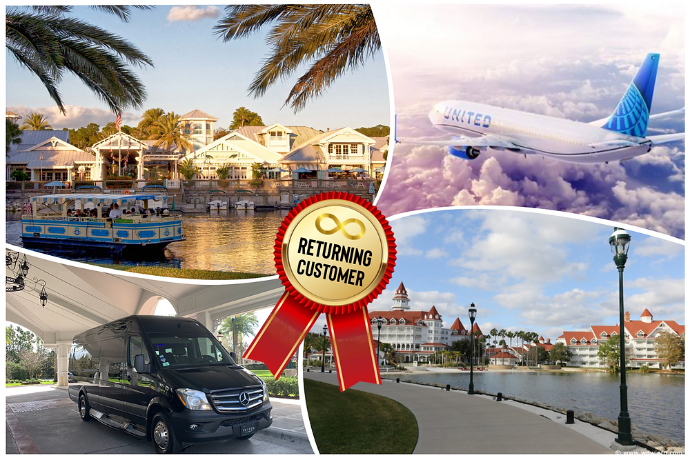 Transportation From MCO To Disney's Old Key West