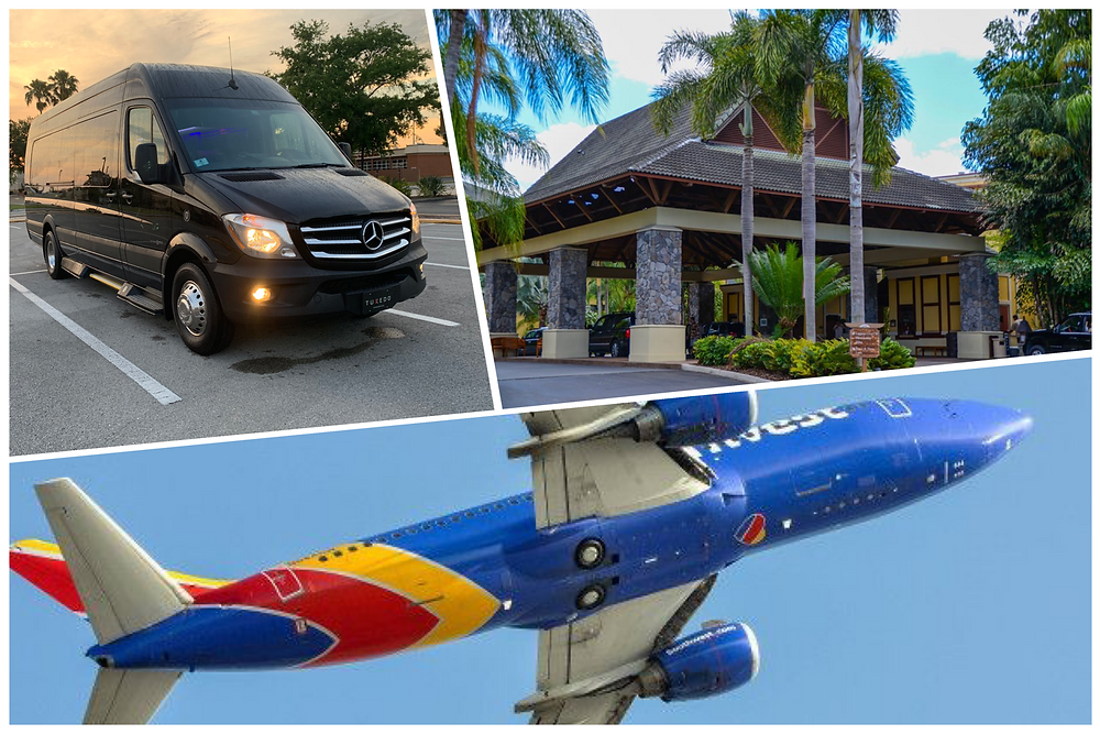 Luxury Airport Car Service From MCO To Royal Pacific Resort