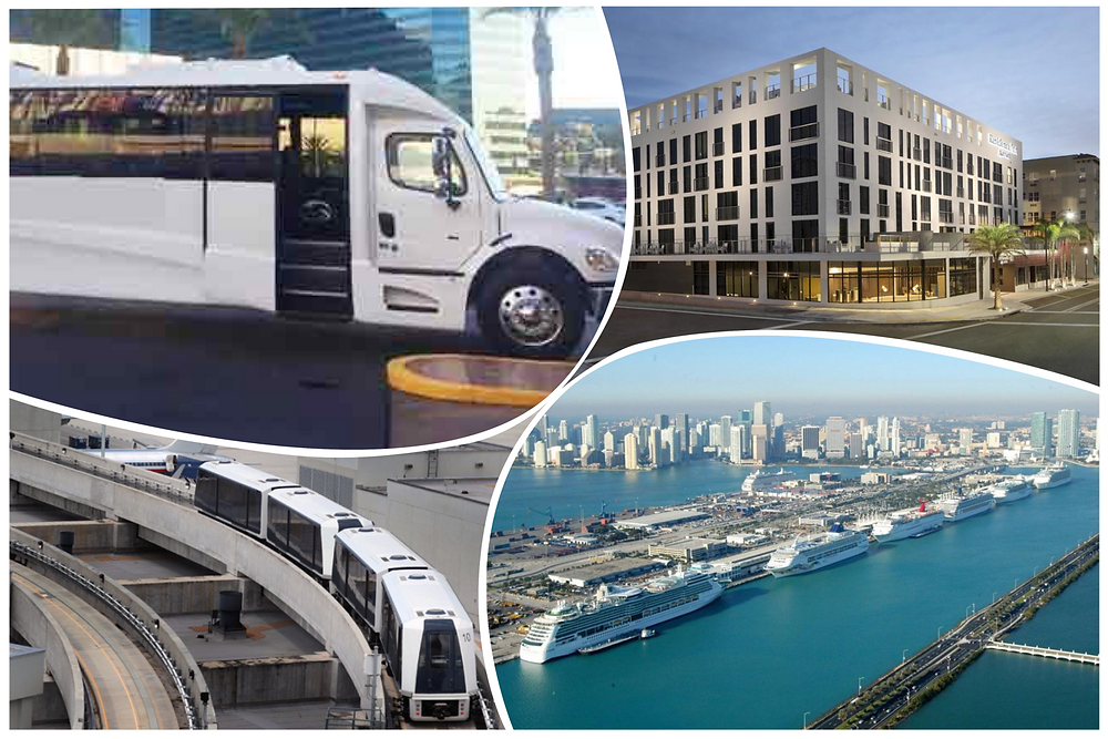 Airport Transportation Between Residence Inn And Port of Miami
