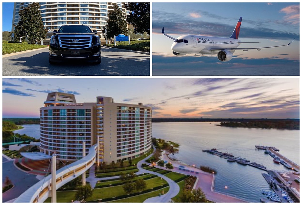 Luxury Transportation From MCO To Disney's Bay Lake Tower
