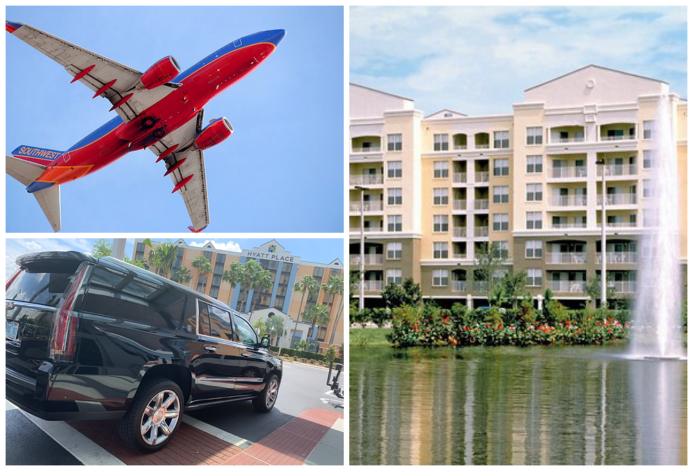 Car Service From Orlando Airport To Vacation Village At Parkway