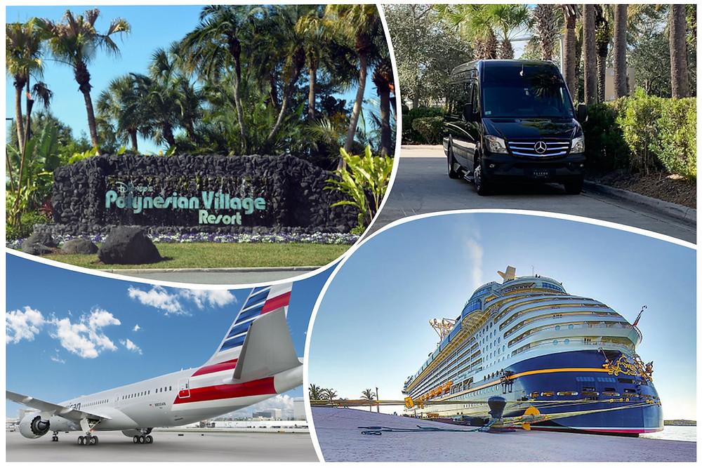 ransportation To Polynesian Village Resort And Disney Cruise