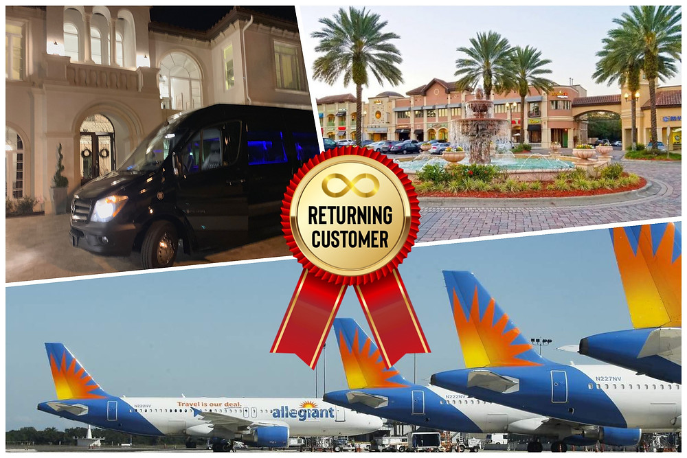 Luxury Transportation from Sanford Airport To Orlando