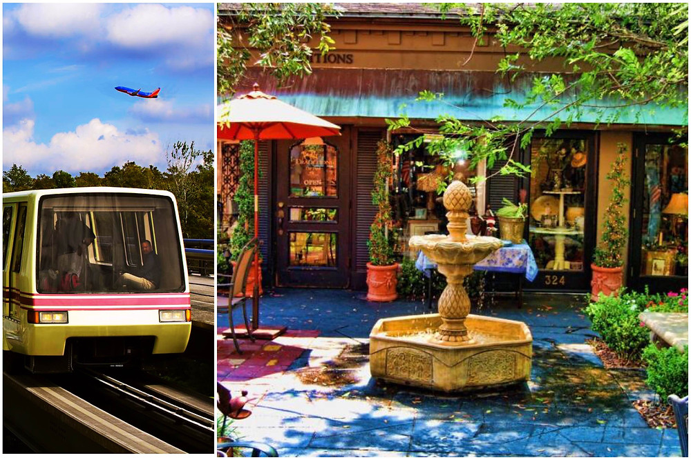 Transportation from Orlando Airport MCO to Winter Park