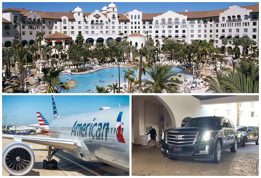 Limo Service Between Orlando Airport And Hard Rock Hotel