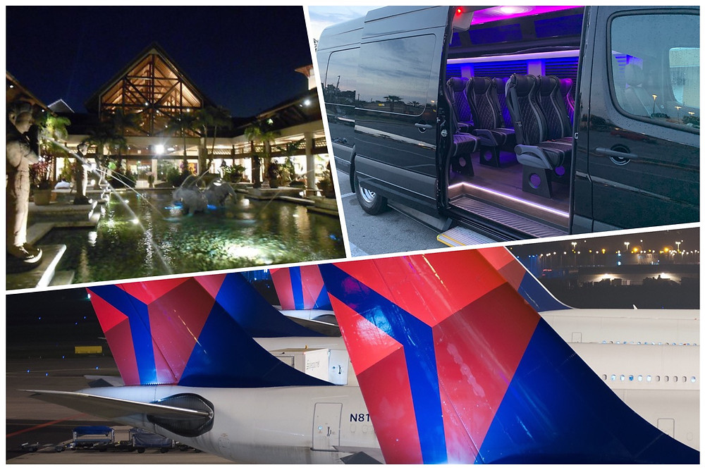 Luxury Transportation From MCO To Universal's Loews Royal Pacific Resort