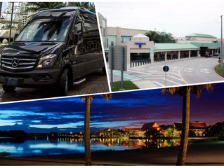 🇺🇸 ★★★★★ Sanford Airport SFB Transportation To Disney World