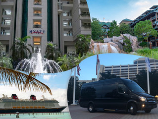 🇺🇸 ★★★★★ Orlando Limo Service From Disney Cruise To Wilderness Lodge.