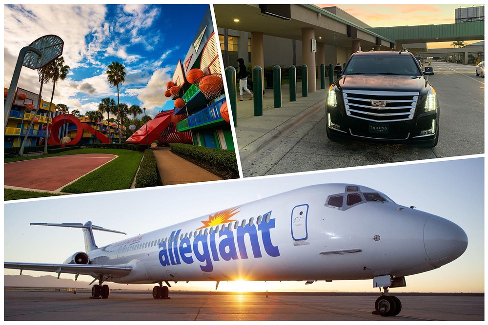 Luxury Transportation From Sanford Airport To Disney's All-Star Sports.