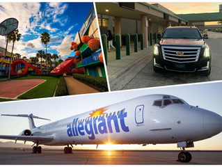 🇺🇸 ★★★★★ Luxury Transportation From Sanford Airport To Disney's All-Star Sports.