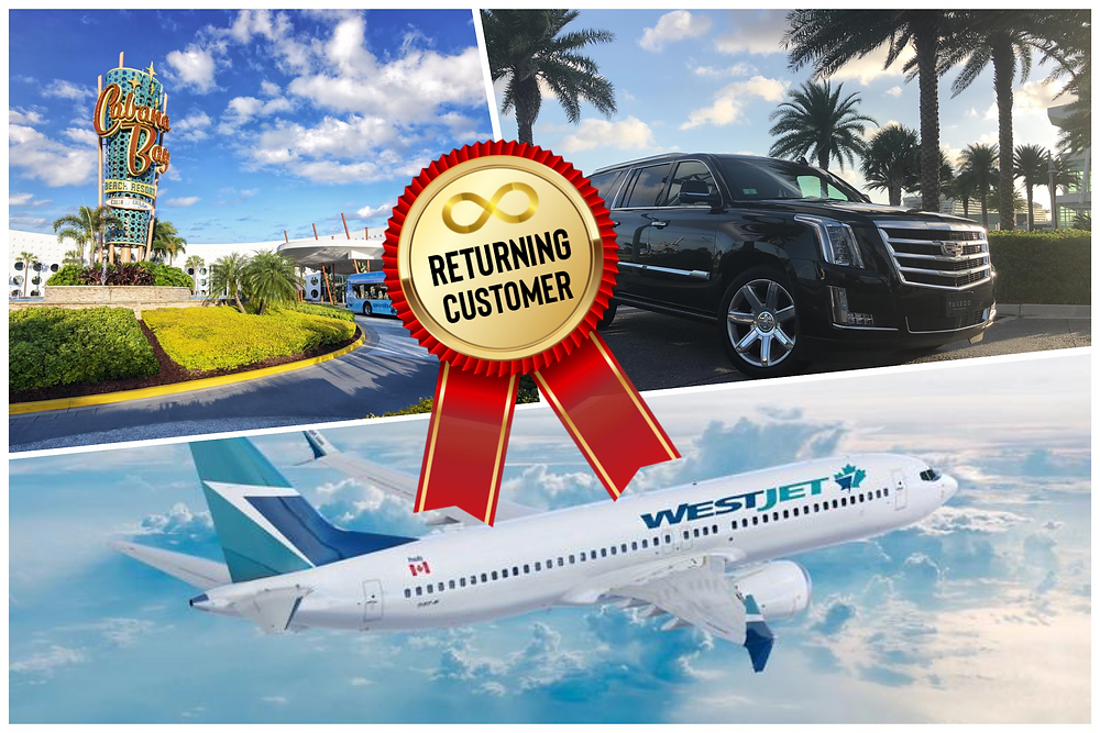 Car Service From MCO To Universal's Cabana Bay