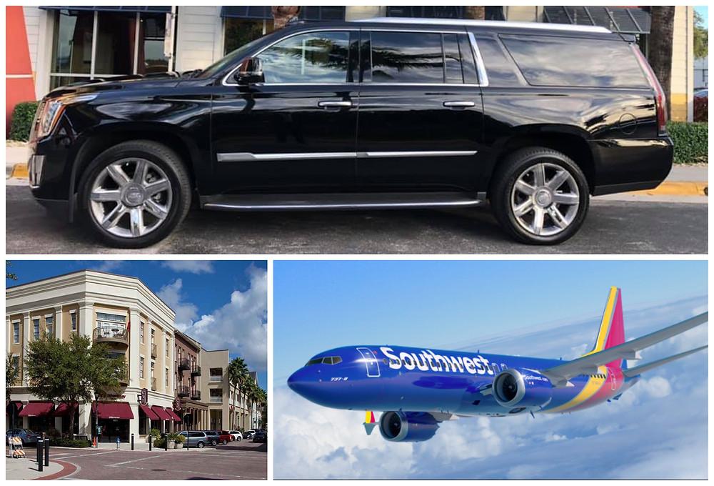 Orlando International Airport Transportation from Winter Park