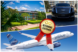 🇺🇸 ★★★★★ Luxury Car Service From Orlando Airport To Disney's Port Orleans.
