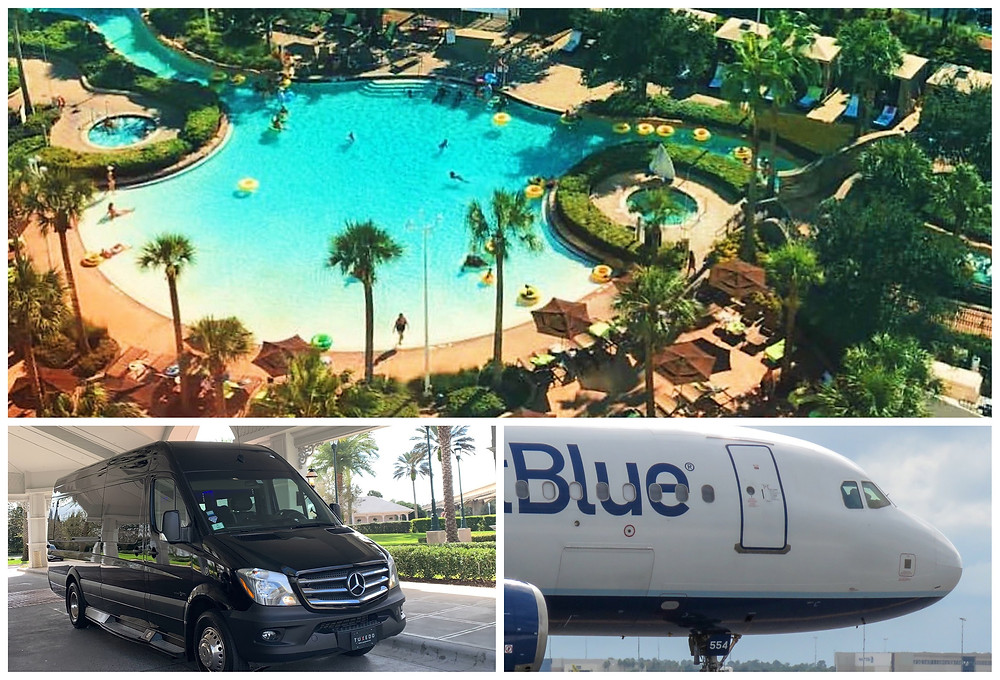 Limo Service From MCO To Hilton Orlando Bonnet Creek