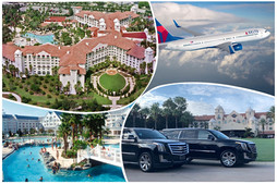 🇺🇸 ★★★★★ Orlando Limousine Service Between MCO, Universal and Disney.