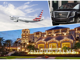 🇺🇸 ★★★★★ Excellent Orlando Private Transportation To Gaylord Palms Resort & Convention Center.