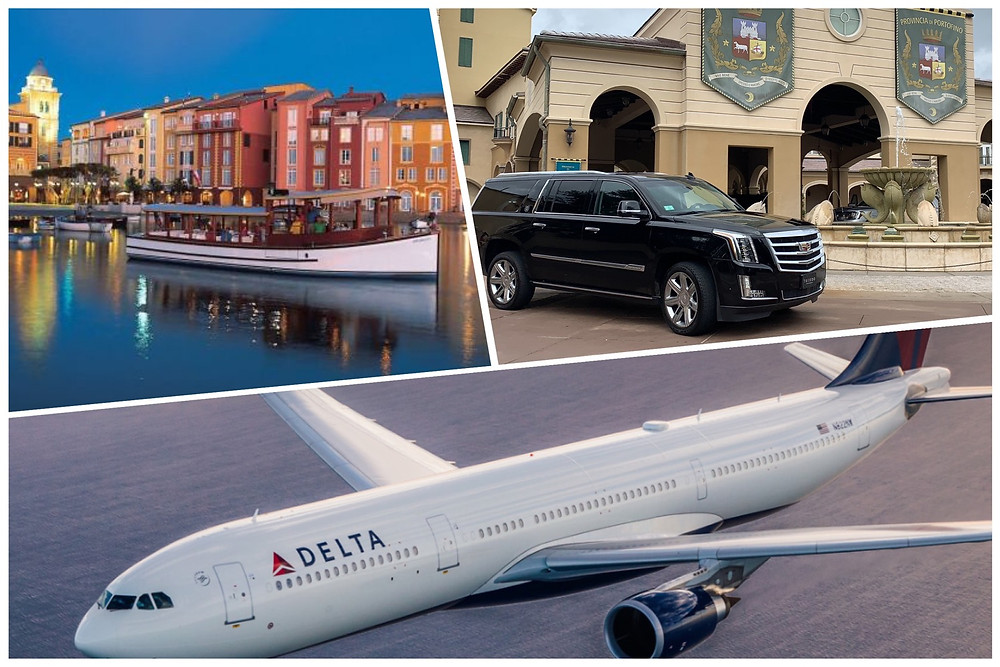 Executive Transportation From Orlando Airport To Universal's Portofino Bay