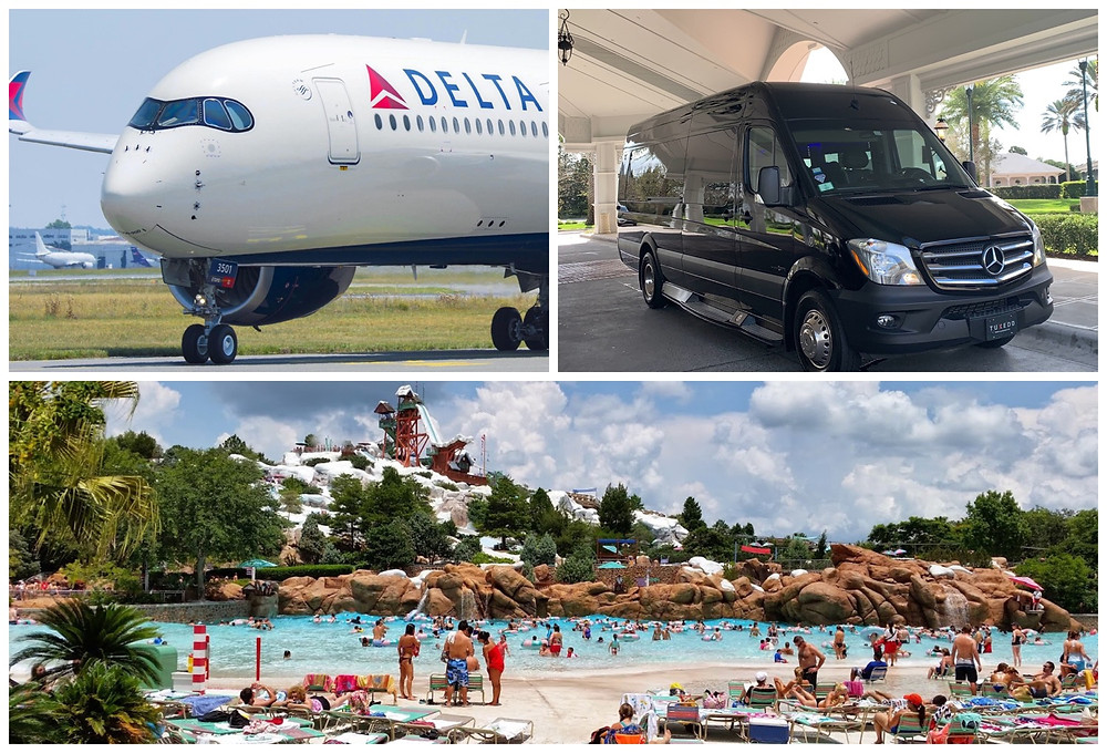 Orlando Car Service From MCO To Blizzard Beach Water Park