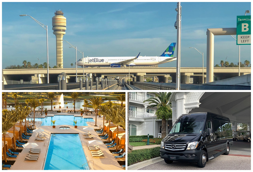 MCO Airport Transportation To Hilton Bonnet Creek