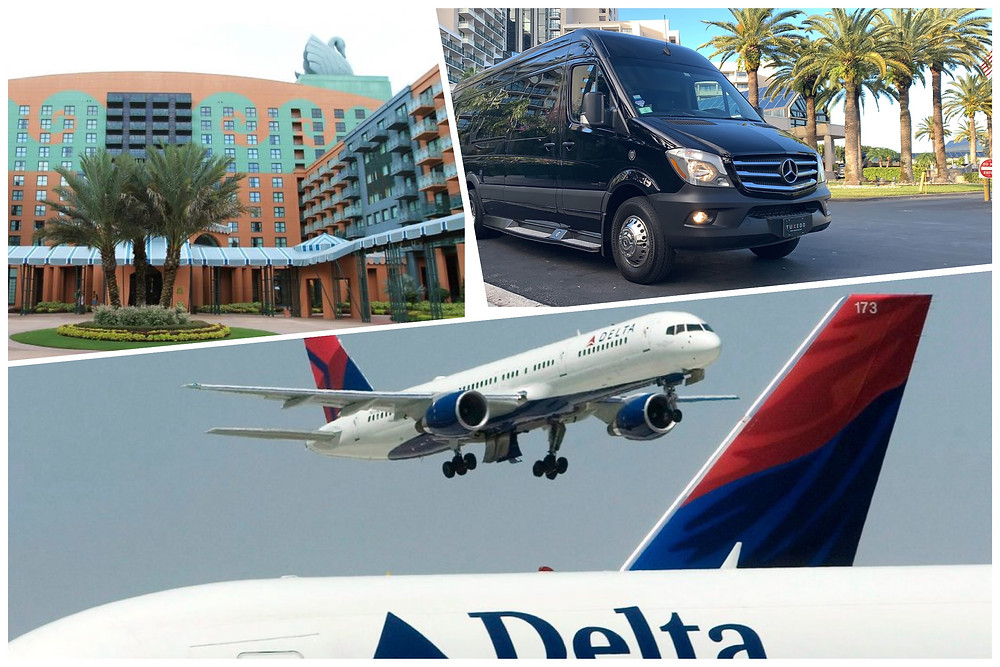 Orlando Transportation To Disney Swan Resort