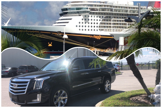 Transportation Orlando Airport Port Canaveral Disney Fantasy Cruise. Had A  Transfer ...