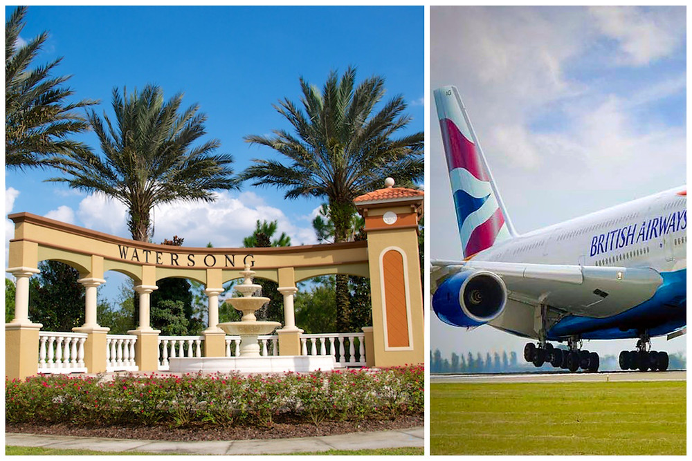 Executive Private Car Service Taxi Transportation - Orlando International Airport MCO Watering Resort Villa - Davenport, FL