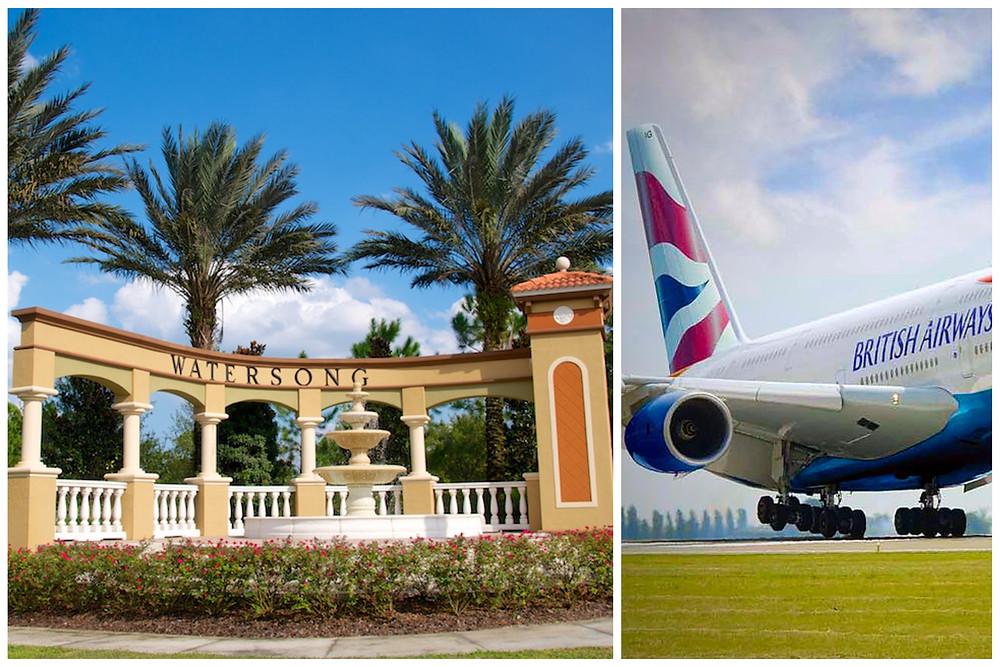 Executive Private Car Service Taxi Transportation - Orlando International Airport MCO Watering Resort Villa - Davenport, FL