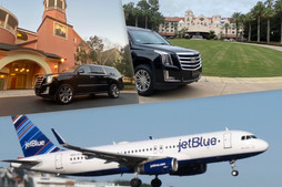 🇺🇸 ★★★★★ Luxury Transportation From Saratoga Springs to Hard Rock Hotel.