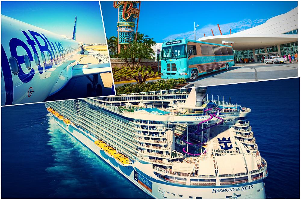 taxi shuttle transportation Orlando Airport MCO - Universal's Cabana Bay Beach Resort - Port Canaveral