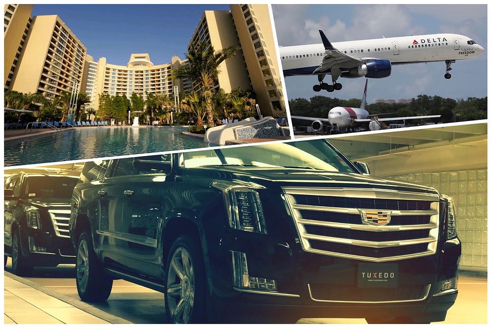 Orlando Airport Limo & Car Service To Bay Lake Tower at Contemporary Resort