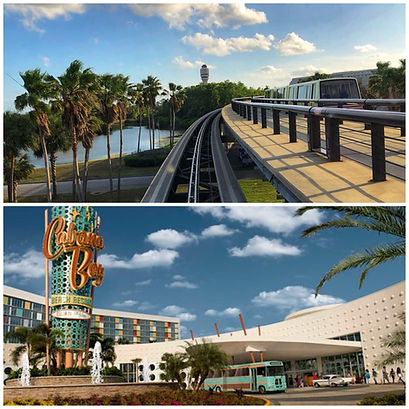 ORLANDO AIRPORT MCO TO UNIVERSAL'S CABANA BAY BEACH RESORT
