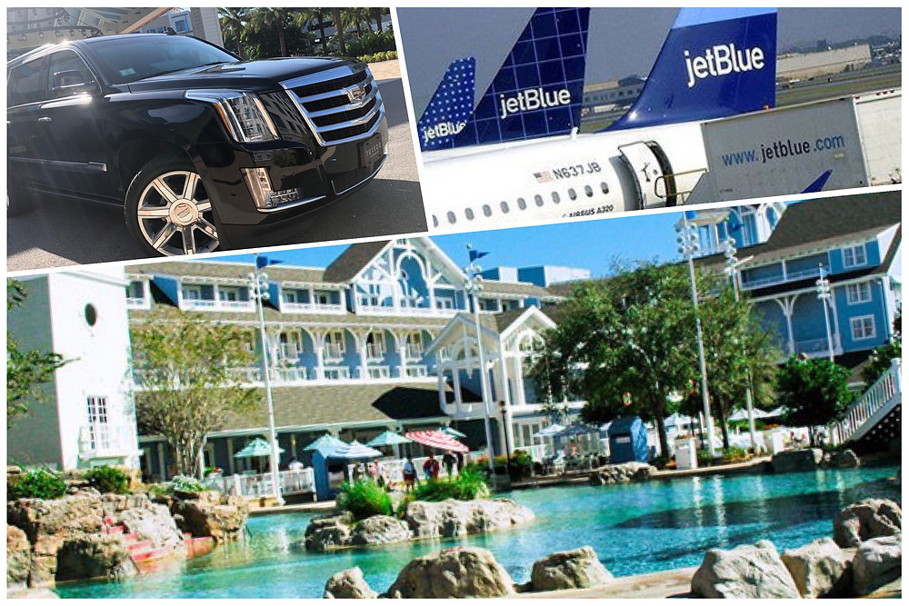 Airport Transportation From MCO To Disney's Beach Club