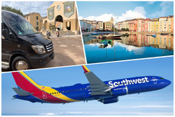 🇺🇸 ★★★★★ Transportation From Orlando Airport To Loews Portofino Bay.
