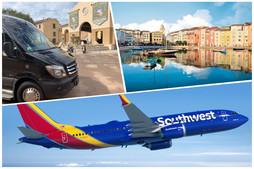 🇺🇸 ★★★★★ Transportation From Orlando Airport To Loews Portofino Bay.