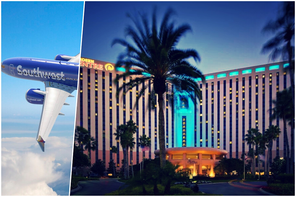 taxi shuttle transportation Orlando International Airport MCO - Rosen Centre Hotel - Convention Center - International Drive