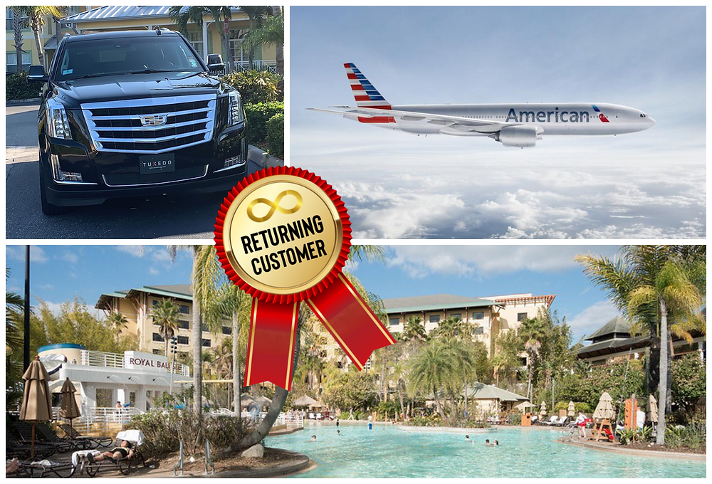 Orlando Airport Car Service To Loews Royal Pacific