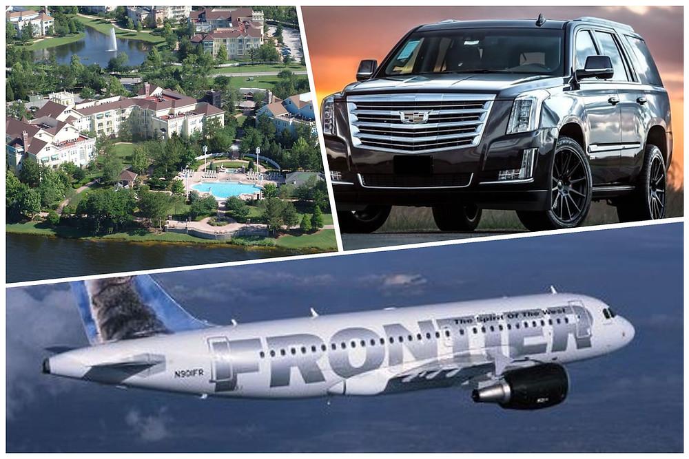 Orlando Airport Car Service To Disney's Saratoga Springs