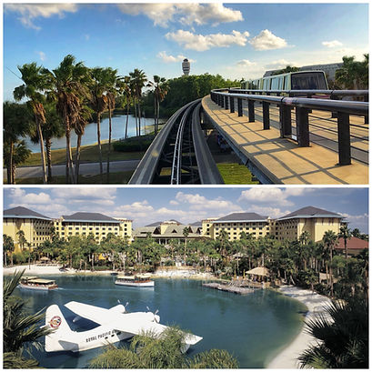 ORLANDO AIRPORT MCO TO LOEWS ROYAL PACIFIC RESORT