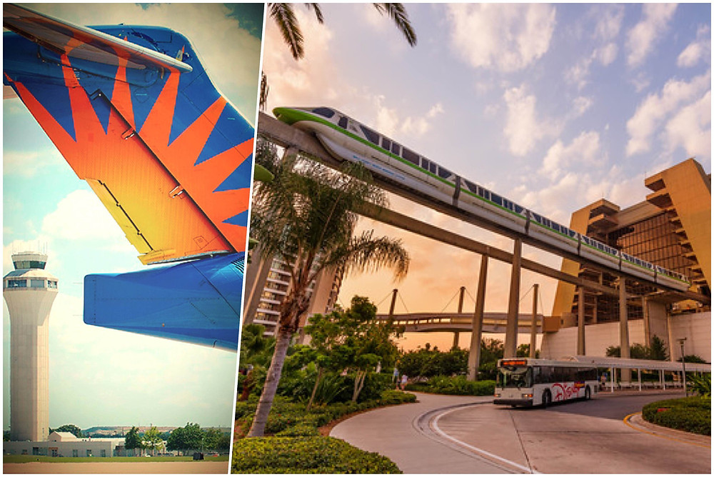 Orlando Sanford Airport Transportation to Disney's Contemporary Resort