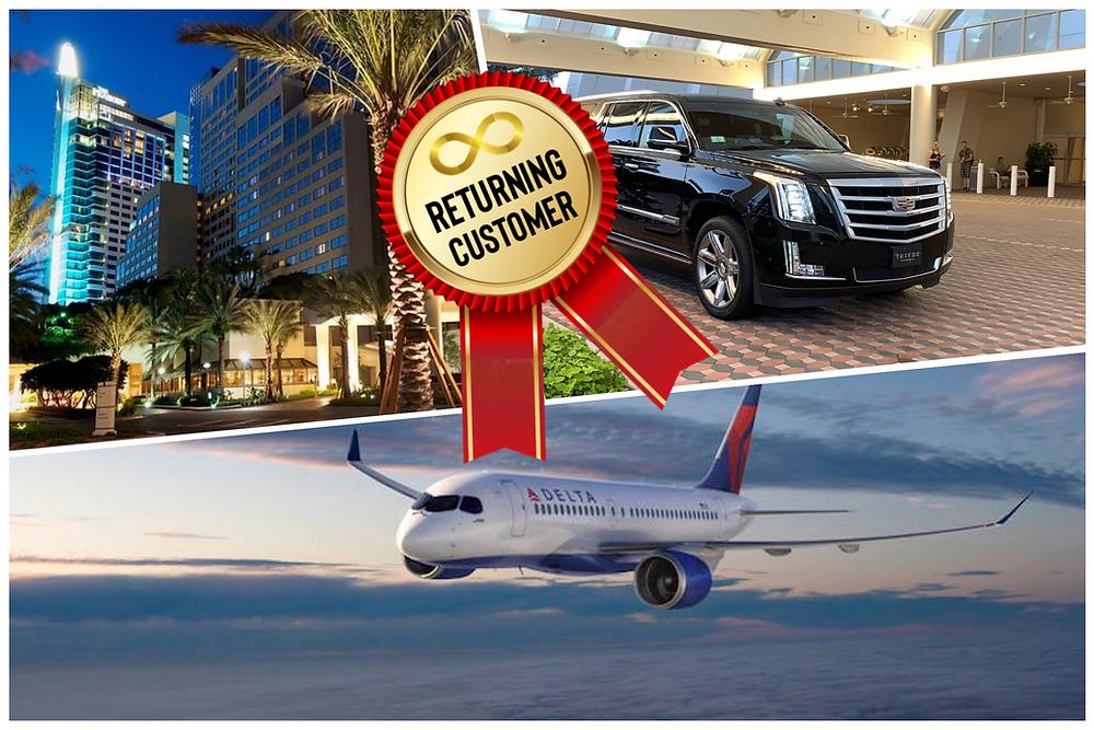 Airport Car Service To Hyatt Regency Orlando