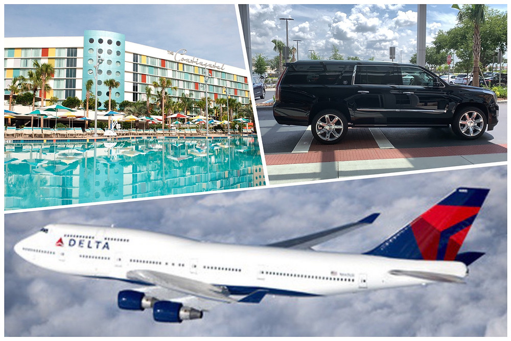 Airport Car Service From MCO To Cabana Bay Beach Resort