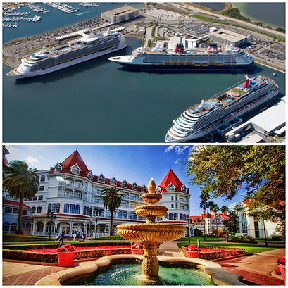 TRANSPORTATION FROM PORT CANAVERAL TO DISNEY'S CARIBBEAN BEACH RESORT