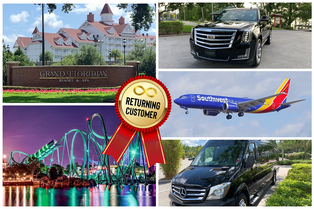 Orlando Transportation To Grand Floridian And Islands Of Adventure