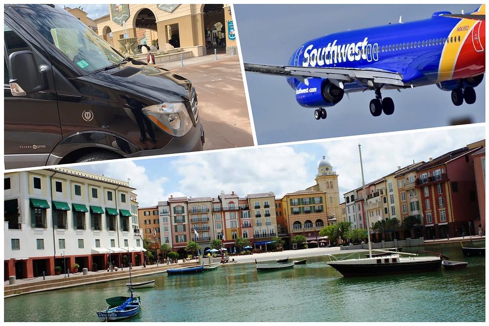 Luxury Car Service From MCO To Universal's Loews Portofino Bay