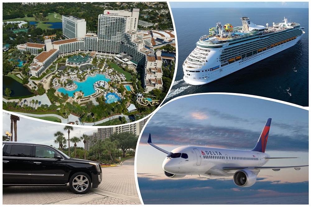Cruise Transportation From Orlando World Center Marriott