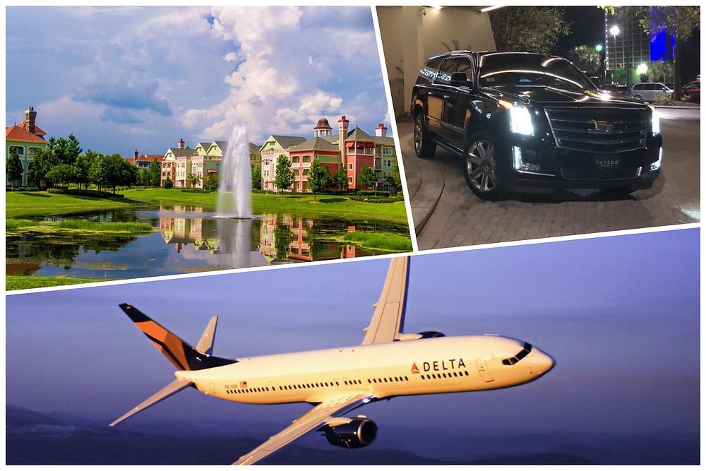 Orlando Car Service - Disney's Saratoga Springs - Orlando Airport MCO