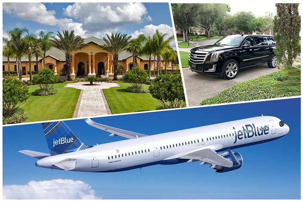 Car service from Orlando Airport to Paradise Palms Resort