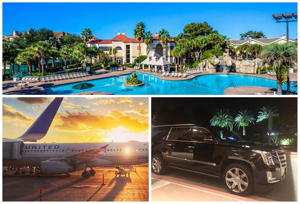 MCO Airport Car Service To Sheraton Vistana Resort