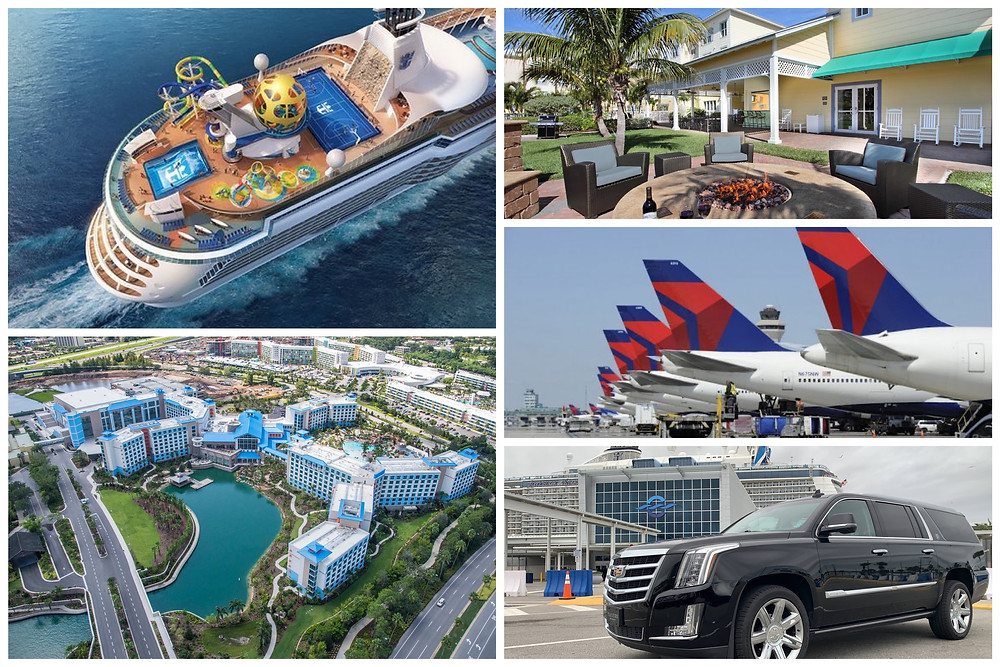 Transportation From Port Canaveral To Universal's Sapphire Falls