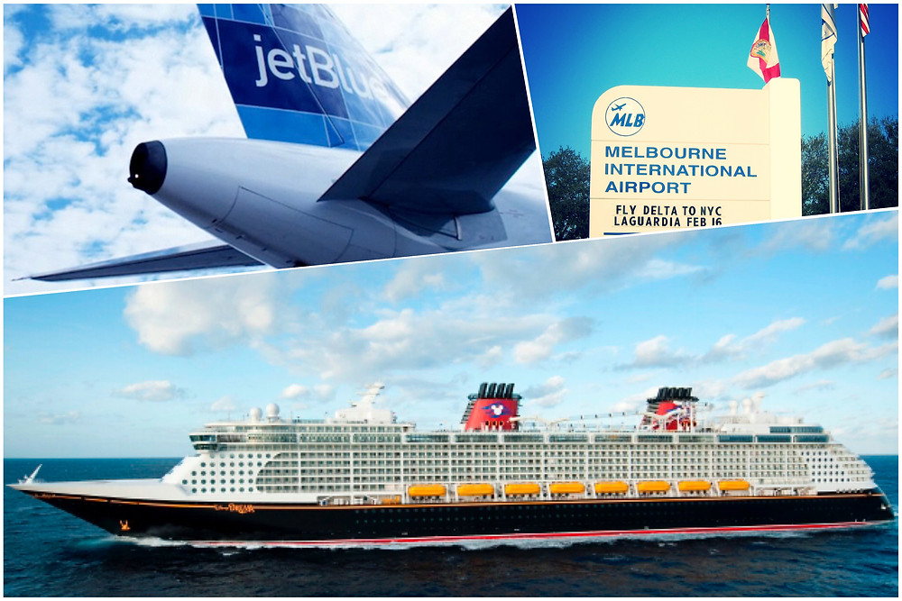 taxi shuttle transportation from Orlando Airport MCO to Port Canaveral and Melbourne Airport